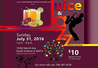Juice & Jazz Fundraisers
