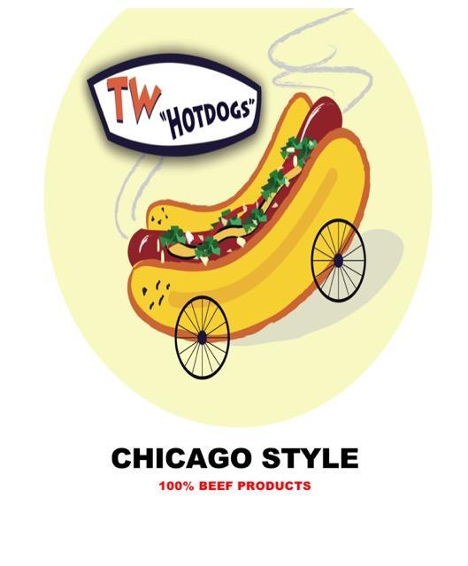 TW Hotdogs Chicago Style
